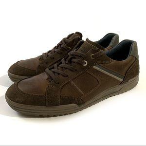 Ecco Sneaker Shoe In Mocha